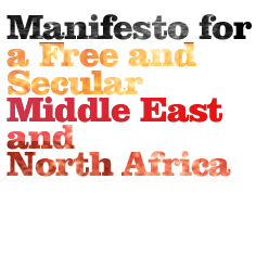 Support Manifesto for a free and secular Middle East and North Africa