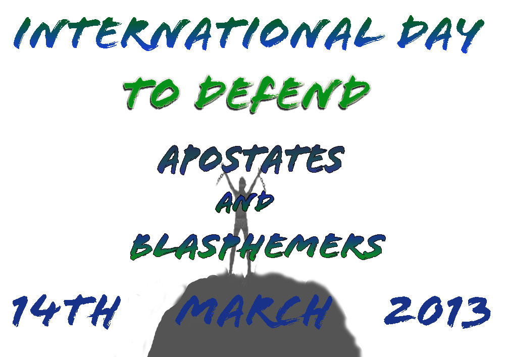 International Day to Defend Apostates and Blasphemers a Success