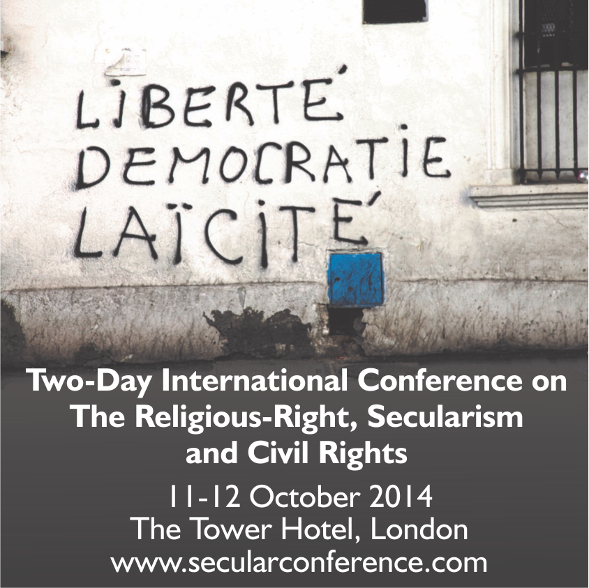 Two-day international conference on the Religious Right, Secularism and Civil Rights