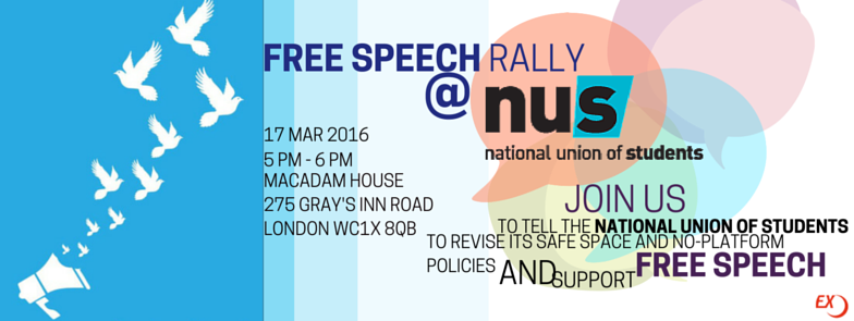 Why the NUS needs to stop 'no-platforming', National Student, 3 May 2016