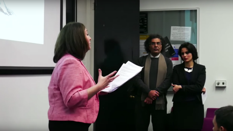 Activist to complain to police over death threats at controversial Goldsmiths talk, East London Lines, 4 December 2015