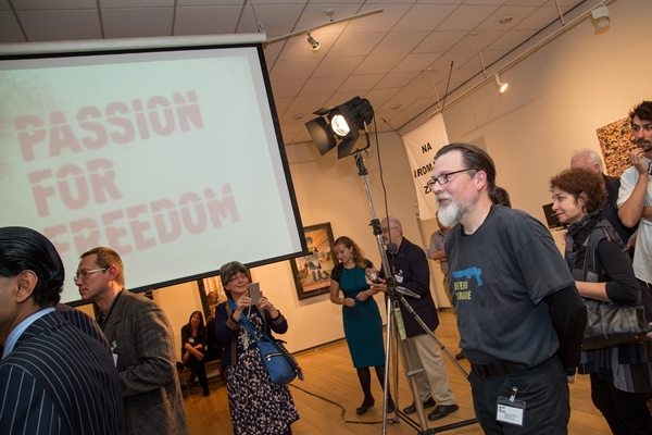 Passion for Freedom art exhibition, Human Rights Service
