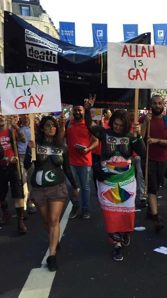 Image result for ex-MUslims Pride march