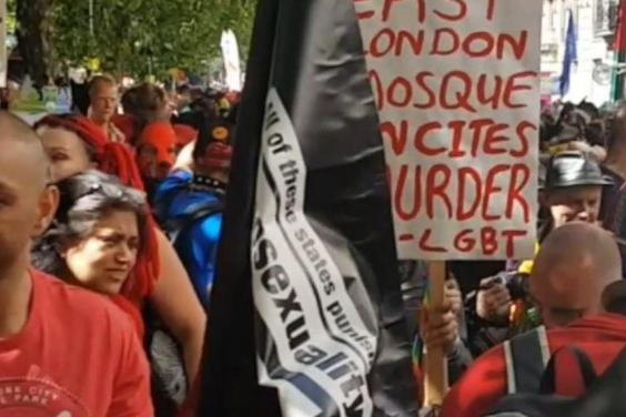 CEMB is merely exposing the East London Mosque's incitement to Hate and murder of LGBT at Pride in London