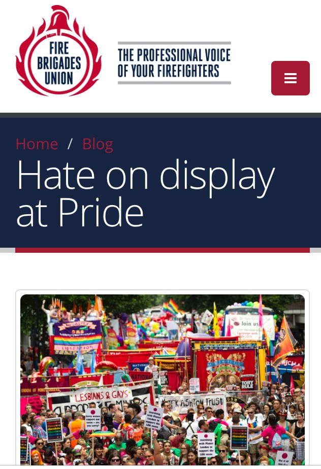 FBU: We are combating hate not promoting it