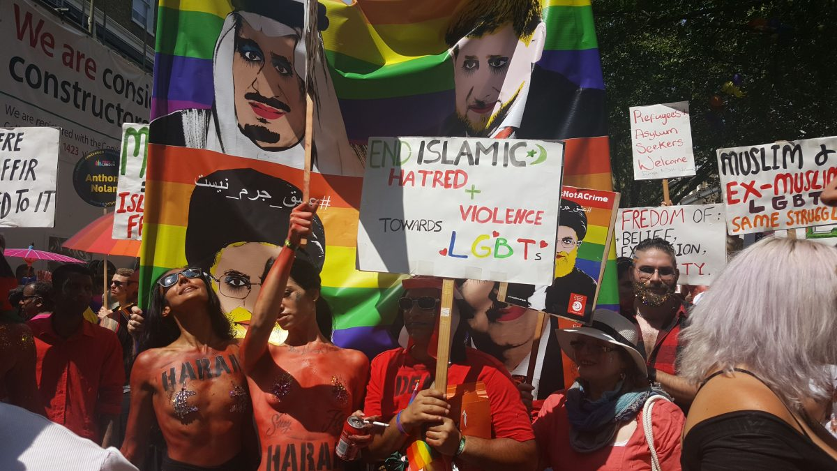 CEMB march at Pride 2018 in London: A Victory against Islamism