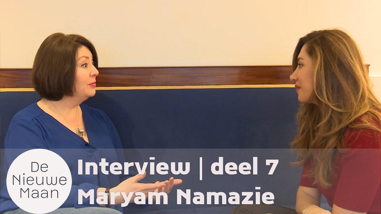 Screenshot of Maryam Namazie being interviewed