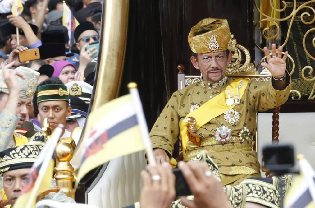 Photo of the sultan of brunei