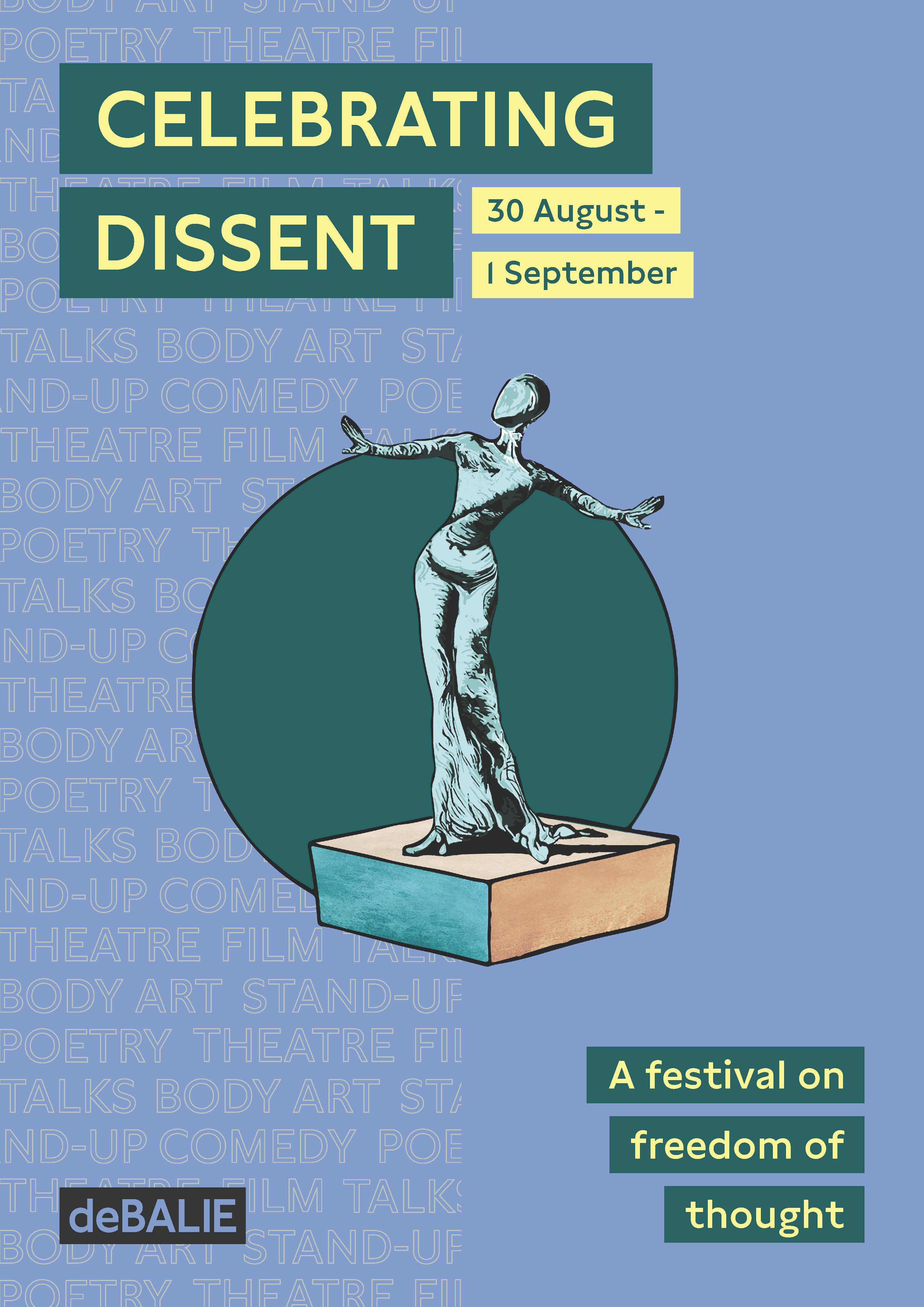Celebrating Dissent Festival at De Balie in Amsterdam