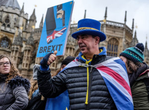 Photo of Brexit Rally by Kevin Grieve on Unsplash
