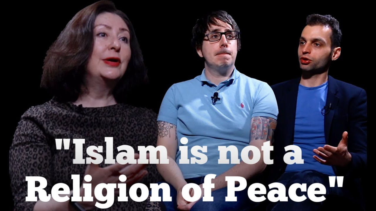 Photo of Maryam Namazie with headline Islam is not a religion of peace