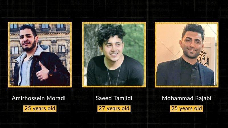Iran: Stop execution of Amirhossein Moradi, Mohammad Rajabi and Saeed Tamjidi