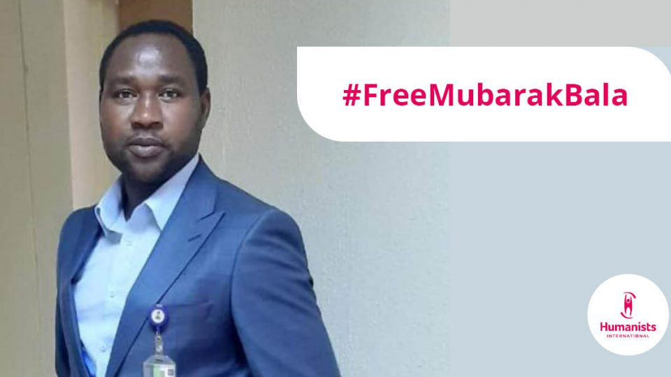 Free Nigerian free-thinker Mubarak Bala