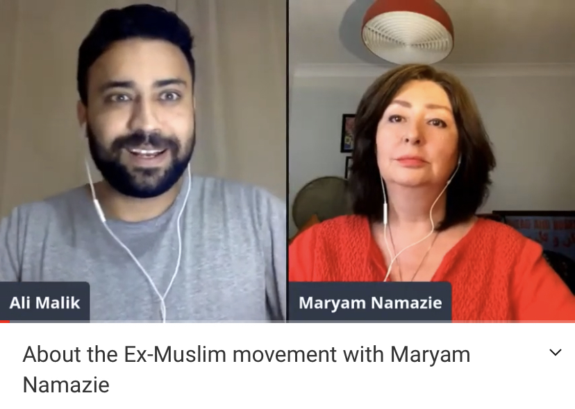 About the Ex-Muslim movement with Maryam Namazie and Ali Malik