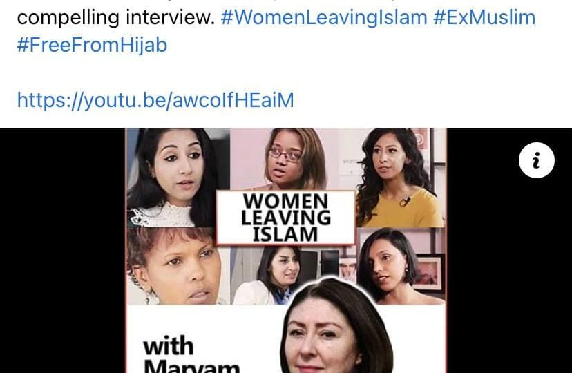Women Leaving Islam: Stories of Courage and Change (with Maryam Namazie), The Thinking Atheist, 9 February 2021