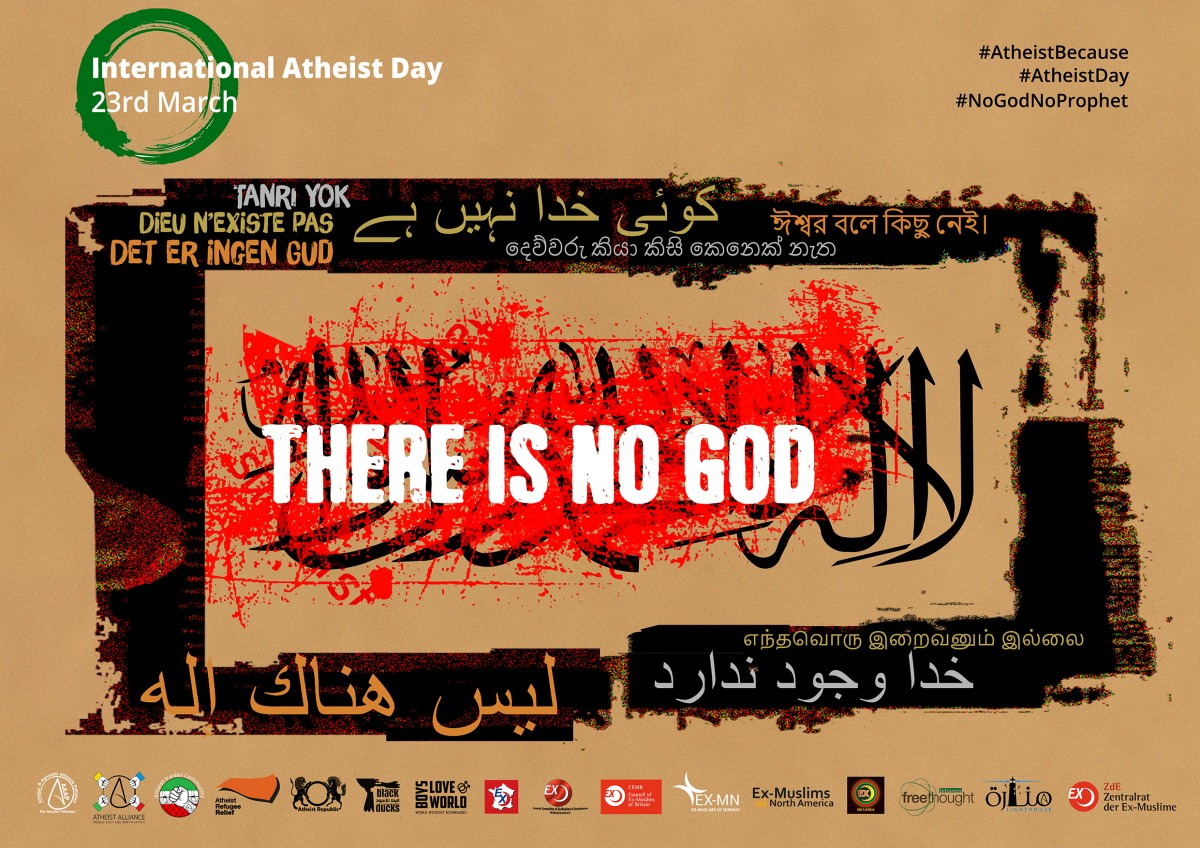23 March, International Atheist Day