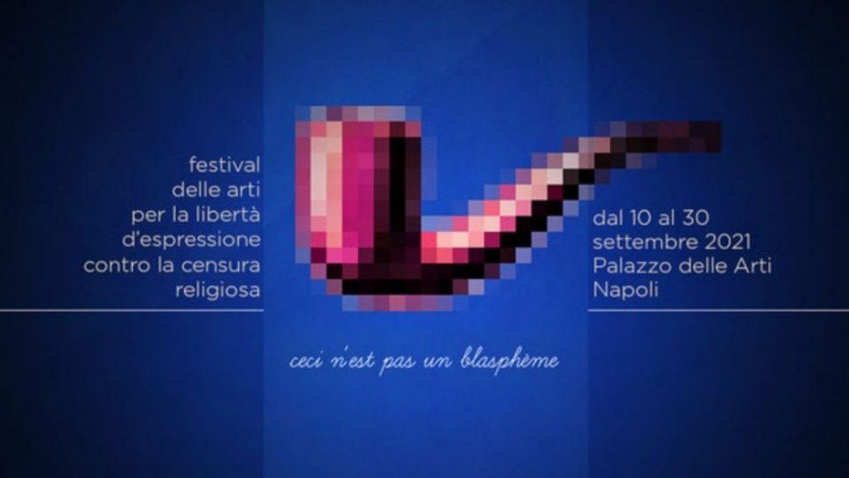Ceci n'est pas un blasphème: Napoli celebra la libertà di espressione, Informa Press, 8 April 2021