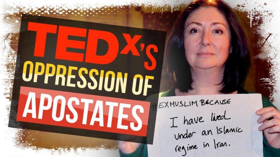 TEDx's DE-FACTO Blasphemy Law | Rationality Rules on Maryam Namazie's censorship, 20 May 2021